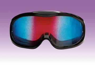 XTC / LSD Simulatiebril (tie dye)